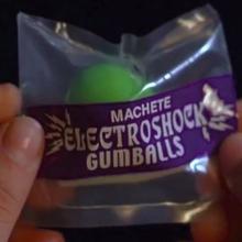 Machete Electroshock Gumballs
