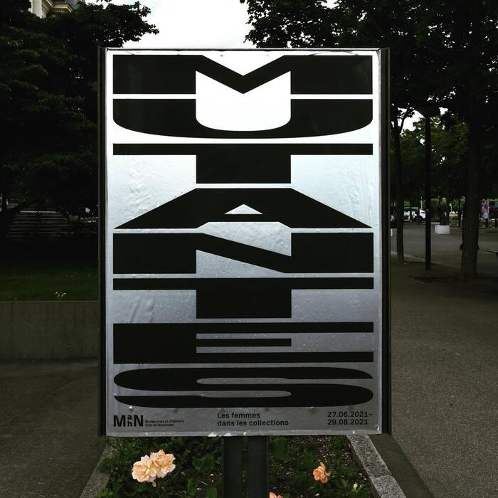 Mutantes – Les femmes dans les collections exhibition poster 1