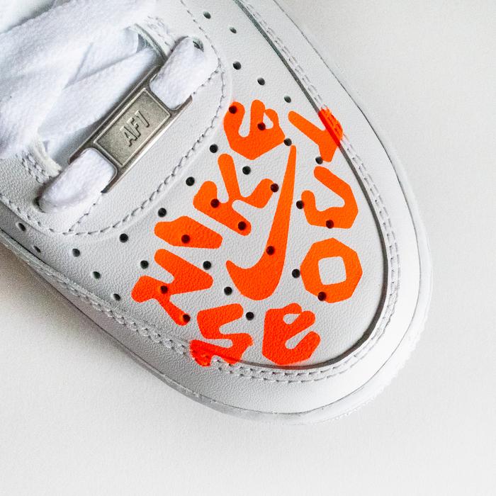 Nike Seoul custom sneakers 3