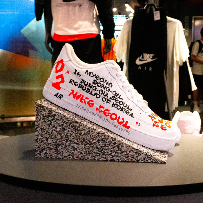 Nike Seoul custom sneakers 5