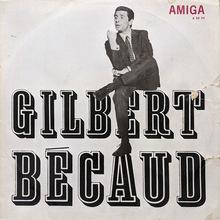 Gilbert Bécaud – <cite>Gilbert Bécaud</cite> album art