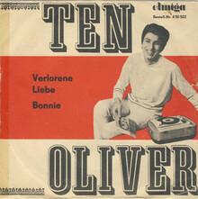 "Ten Oliver – ""Verlorene Liebe"" / ""Bonnie"" single cover"