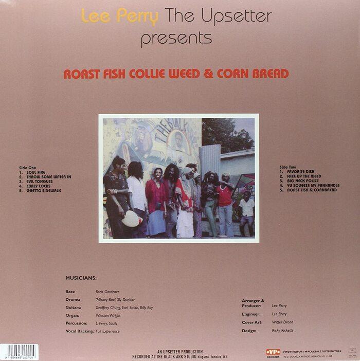 Lee Perry – Roast Fish Collie Weed & Corn Bread album art 2