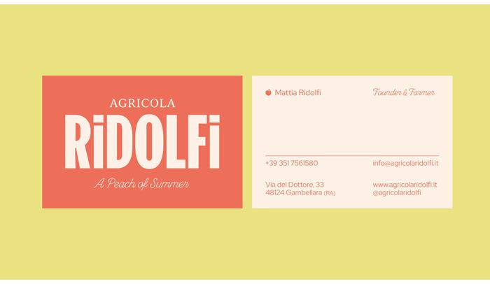 Agricola Ridolfi 8