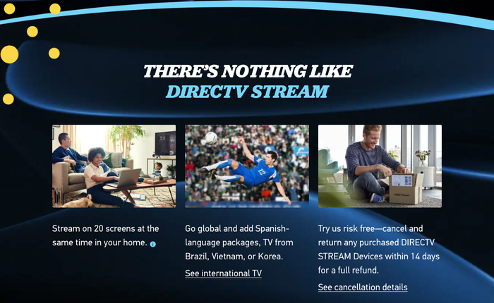 """DirecTV Stream's """"Get your TV together"""" campaign 7"""