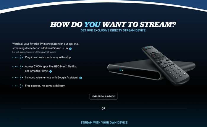 """DirecTV Stream's """"Get your TV together"""" campaign 8"""