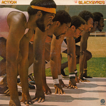 The Blackbyrds – <cite>Action</cite> album art
