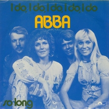"""ABBA – """"I Do, I Do, I Do, I Do, I Do"""" / """"So Long"""" Dutch single cover"""