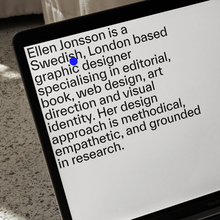 Ellen Jonsson website