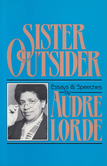 <cite>Sister Outsider. Essays and Speeches</cite> by Audre Lorde (Crossing Press, 1984)