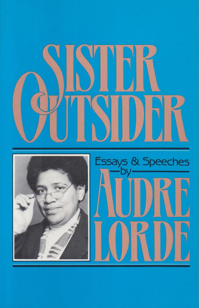 Book jacket of the hardback edition, Crossing Press, 1984.