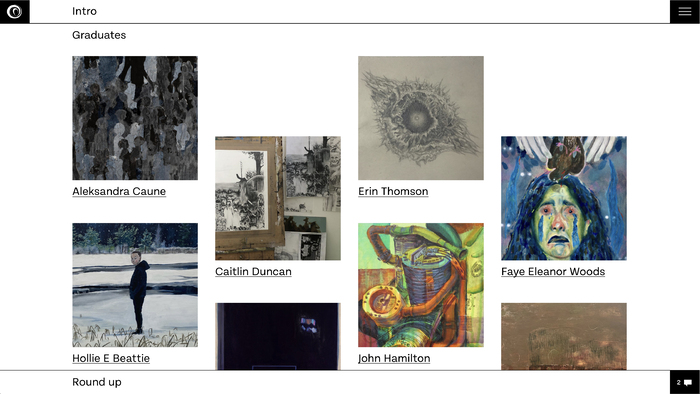 Gray's School of Art's Digital Degree Show 2021 6