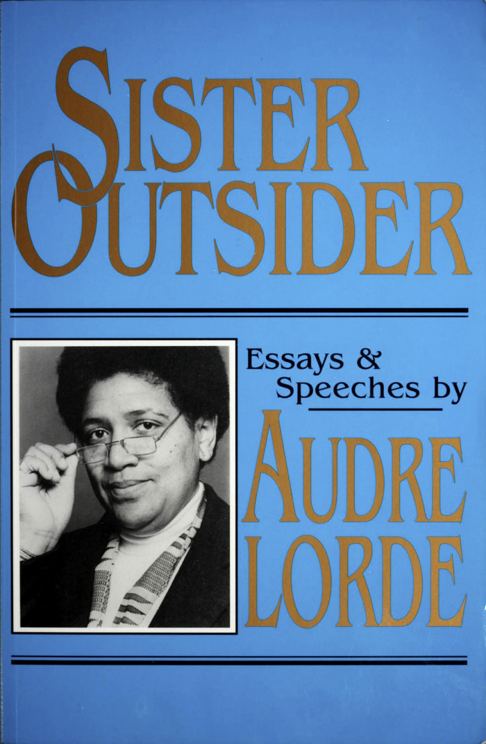 Cover of the paperback edition, Crossing Press, 1984.