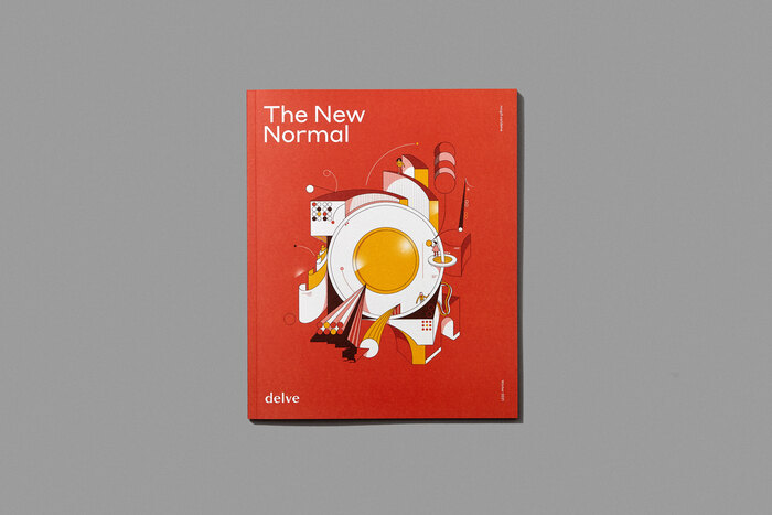 "Delve magazine, Winter 2021, ""The New Normal"" 1"