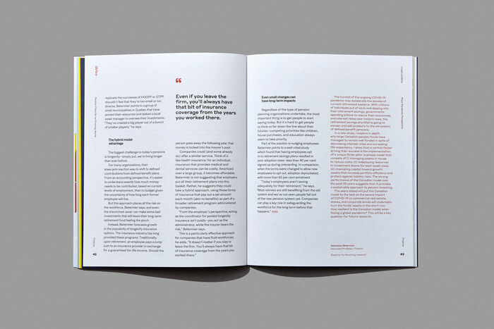 "Delve magazine, Winter 2021, ""The New Normal"" 4"