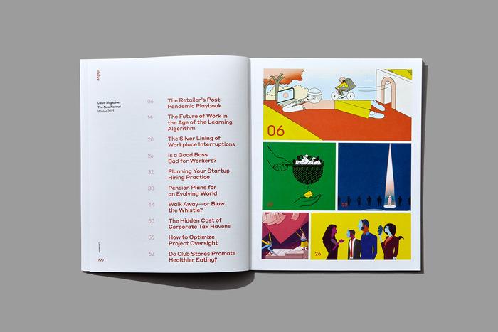 "Delve magazine, Winter 2021, ""The New Normal"" 2"