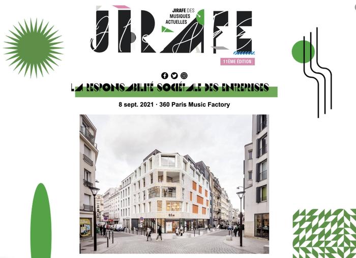 JIRAFE 2021 by Réseau MAP visual identity system 1