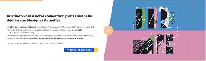 JIRAFE 2021 by Réseau MAP visual identity system 3