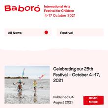 Baboró festival website