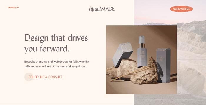 Ritual Made website 1
