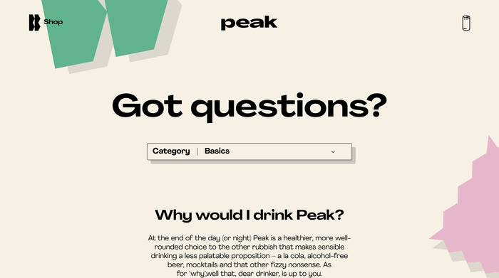 Peak Social Tonics 16