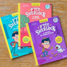 <cite>P'tit Sherlock</cite> children book series