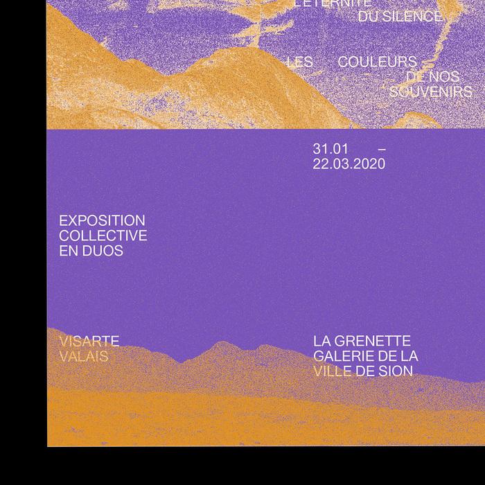 Avant que ne s'évanouissent dans l'éternité du silence les couleurs de nos souvenirs exhibition posters 1