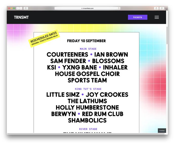 TRNSMT festival 2021 9