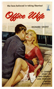 <cite>Office Wife</cite> by Richard Grant (Beacon Books, 1960)