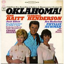 Various Artists – <cite>Oklahoma!</cite> (Columbia, 1964) album art