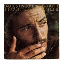 Bruce Springsteen – <cite>The Wild, the Innocent &amp; the E Street Shuffle</cite> album art