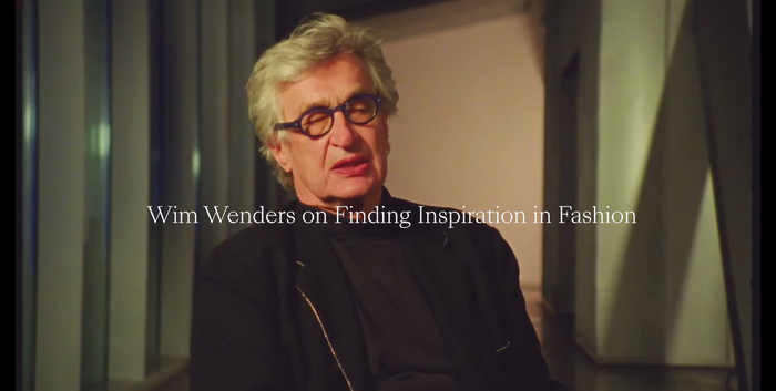 Making-of interview with director Wim Wenders.