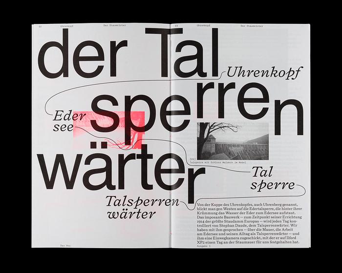 Das Heu magazine, Issue 01 2