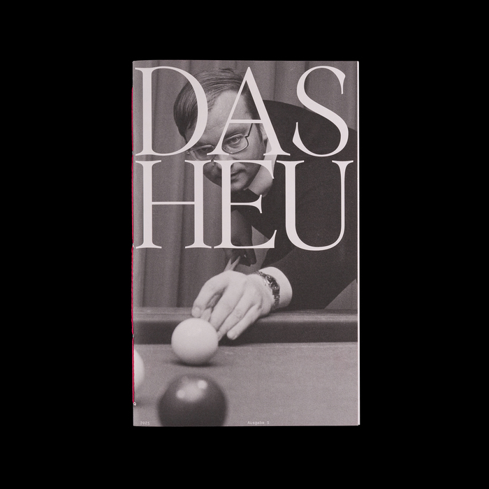 Das Heu magazine, Issue 01 1