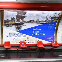 <cite>Normandie Impressionniste 2020 </cite>exhibition