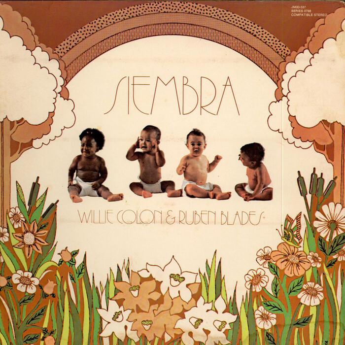 Willie Colón & Rubén Blades – Siembra album art 1