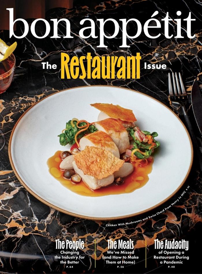 "Bon Appétit, ""The Restaurant Issue"", October 2021 1"