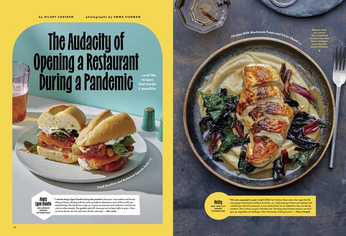 "Bon Appétit, ""The Restaurant Issue"", October 2021 3"