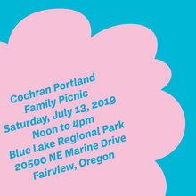 Cochran Portland Family Picnic invitation