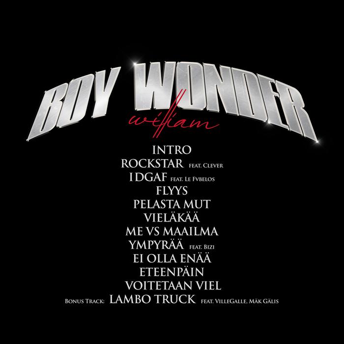 William – Boy Wonder album art 2