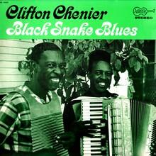 Clifton Chenier – <cite>Black Snake Blues</cite> album art