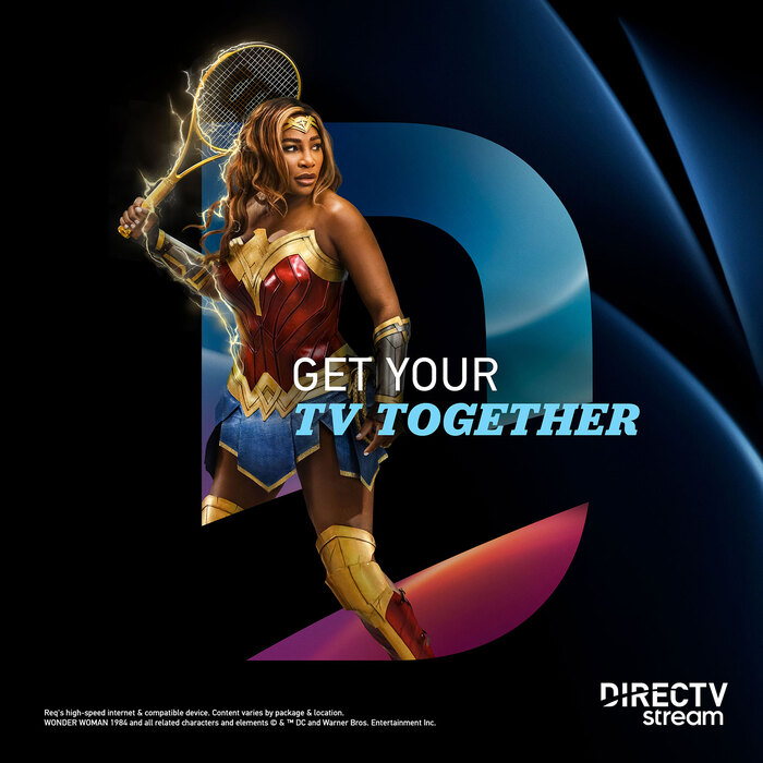 """DirecTV Stream's """"Get your TV together"""" campaign 1"""