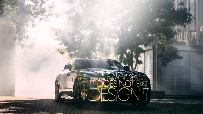 Rolls Royce Spectre teaser 3