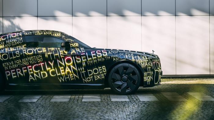 Rolls Royce Spectre teaser 4