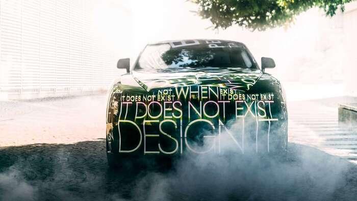Rolls Royce Spectre teaser 1