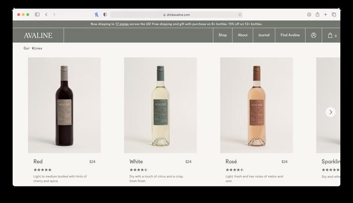 Avaline wine 6