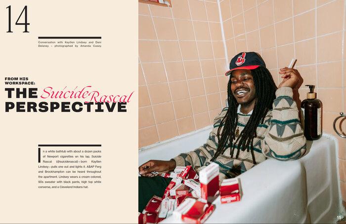 Title magazine rebrand, issue 005 5