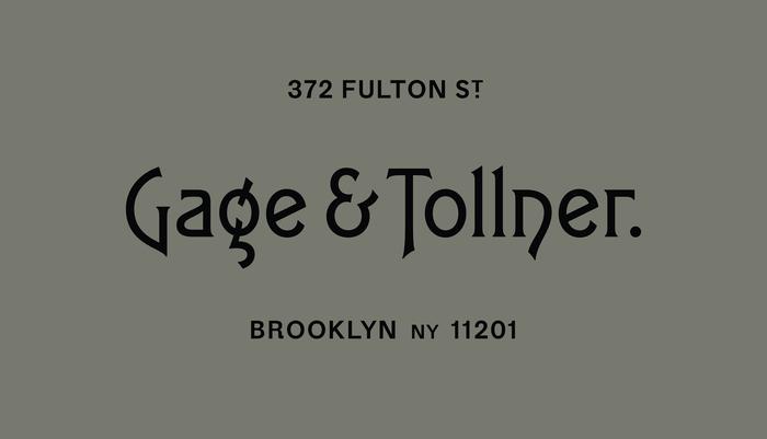 Gage & Tollner 9
