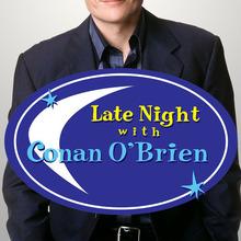 <cite>Late Night with Conan O'Brien</cite> logo