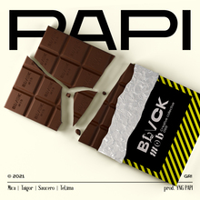 "Blvck Mob – ""Papi"" single cover"